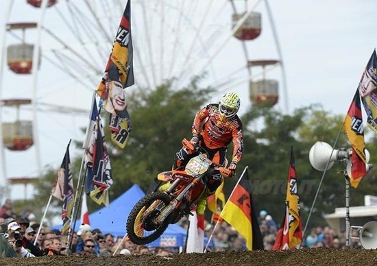Motocross. Cairoli e Searle vincono Gara 1 del GP di Germania
