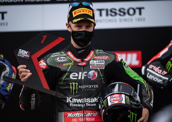 SBK 2020, GP d'Aragona. Jonathan Rea vince gara 2 al Motorland
