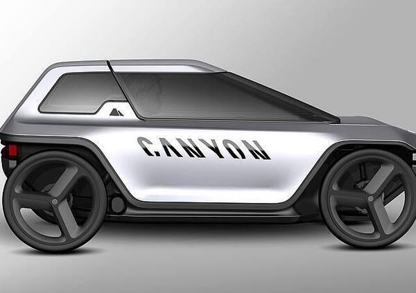 Concept Canyon: un po auto e un po eBike