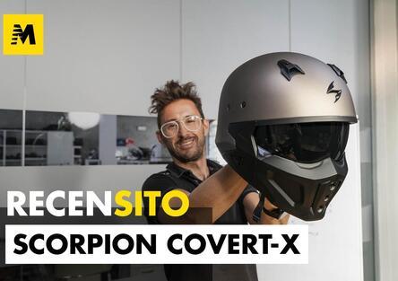 Scorpion Sports Covert-X. Recensione casco jet stile street-fighter