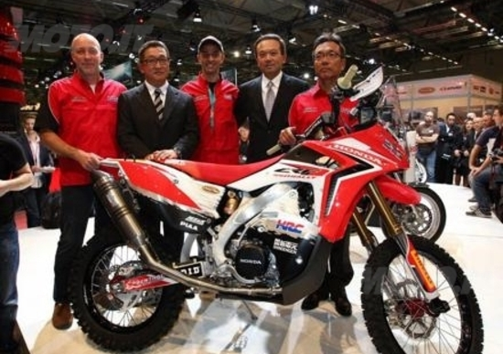 Dakar 2013: Honda rivela i piani di vittoria della CRF450 Rally
