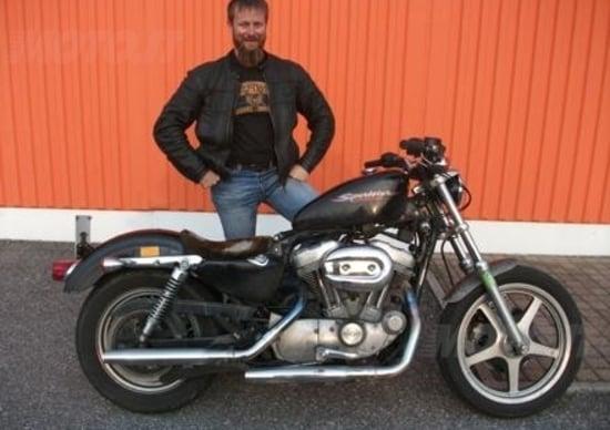 Una Harley-Davidson Sportster da 200.000km!