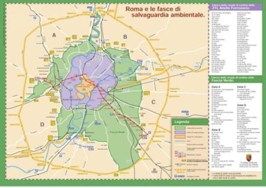 Roma: da novembre blocco del traffico per moto Euro 0 e 1