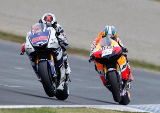 Lorenzo: Honda mostruosa in accelerazione