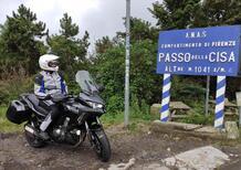 Special Test: il Passo della Cisa con la Kawasaki Versys 1000