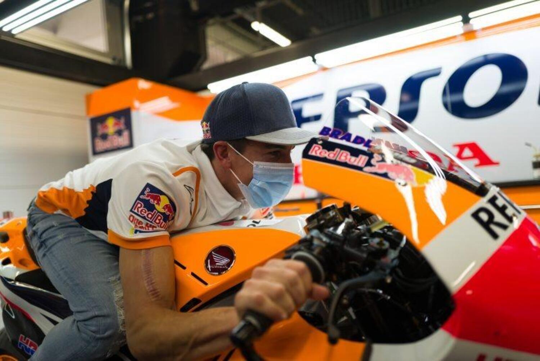MotoGP. Il ritorno in sella di Marc Márquez [GALLERY]