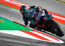 MotoGP 2020 Catalunya. a Fabio Quartararo il Warm-up