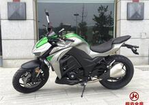Ehi, una Kawasaki Z1000... ah, no, è una Yamax Z400!
