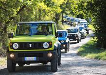 Suzuki Vitara e V-Strom 1050 XT, il tour a due e quattro ruote [Video]