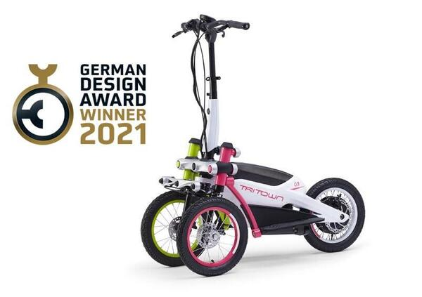 Yamaha Tritown vince il premio Excellent Product Design al German Design Award 2021