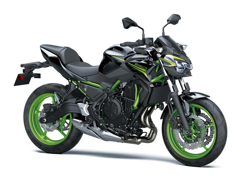 Kawasaki Z650, Ninja 650 e Versys 650 2021: Euro 5, ritocchi e nuovi colori [GALLERY]