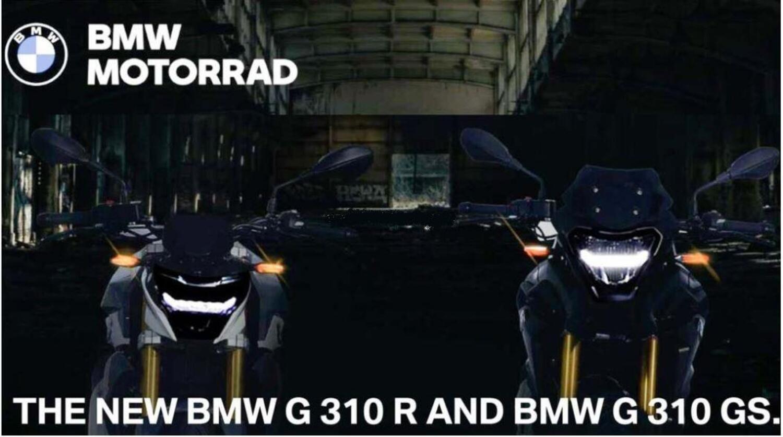 BMW G310R e G310GS, presentazione l'8 ottobre