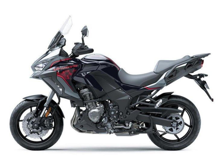 Kawasaki Versys 1000 SE 2021. Con le sospensioni Skyhook
