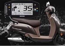 Suzuki presenta il nuovo Access 125 con connettività