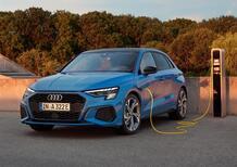 Audi A3 Sportback TFSI e: quanto costa la versione ibrida plug-in
