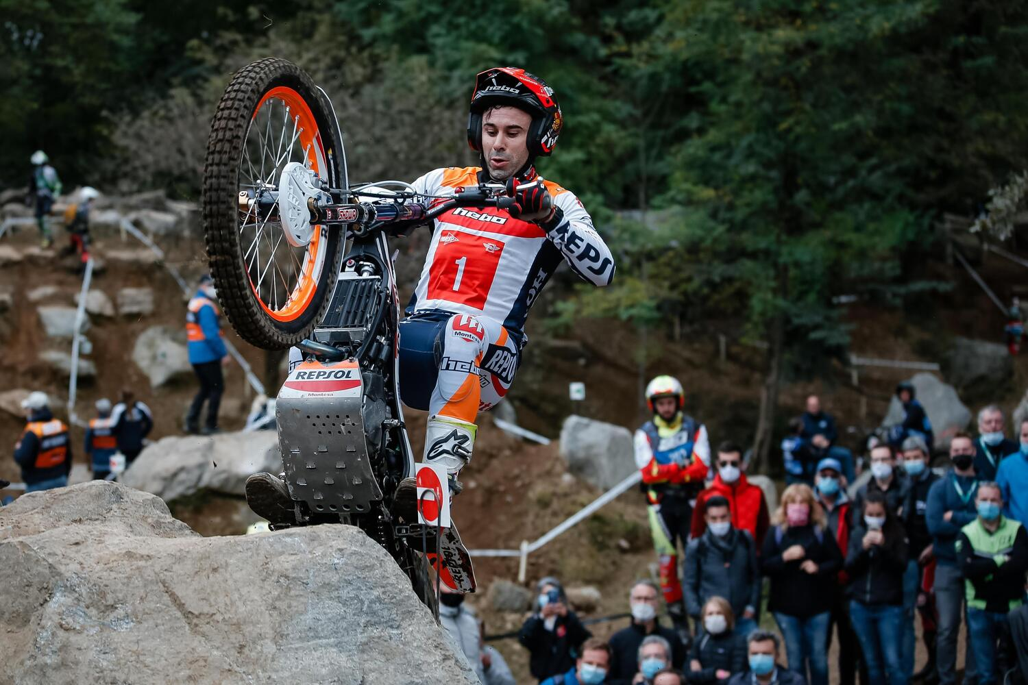 Grande Trial in casa del Moto Club Lazzate
