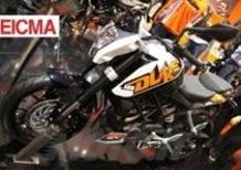 KTM Duke 125 e 200 con ABS a EICMA 2012