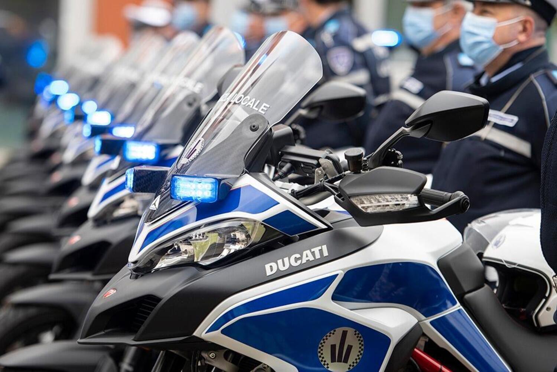 La Polizia Locale di Bologna compera 25 Ducati Multistrada 950