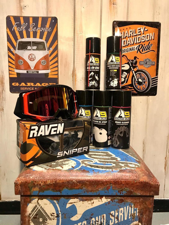 Lubrificanti e Detergenti A9 Racing Oils by 24MX