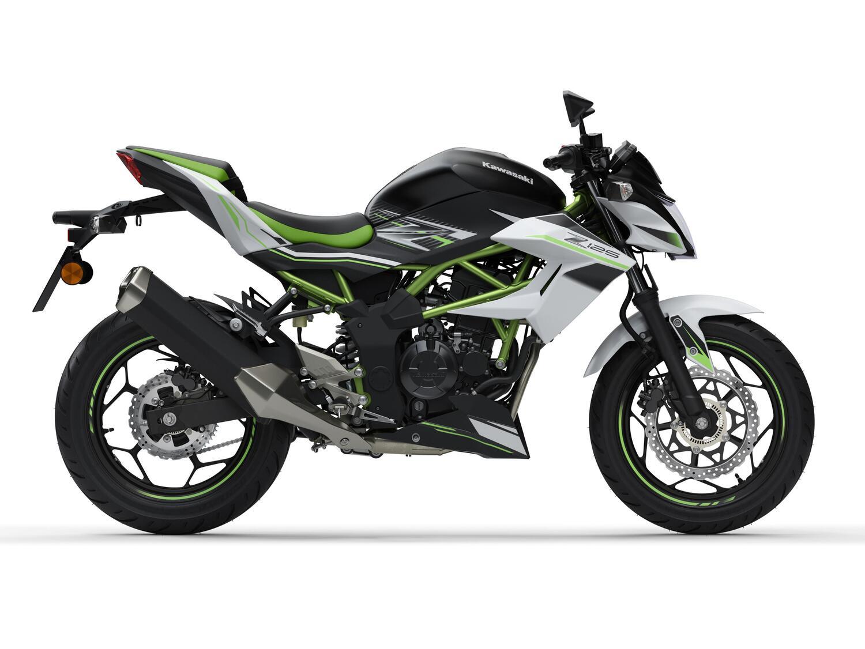 Kawasaki Z125 e Ninja 125 m.y. 2021