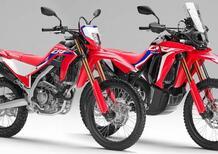 Honda CRF250L e CRF250 Rally 2021. Nuovo telaio e meno peso