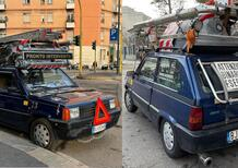 L'auto da lavoro TOTALE: la Fiat Panda del tuttofare milanese...