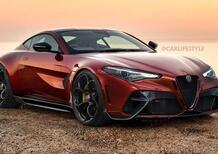 """Alfa Romeo GTV: quello che fa """"arrabbiare"""" è che ESISTE DAVVERO... (render)"""