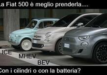 Quale auto nuova regalarsi (o regalare)  nel post-Covid, Fiat 500: ICE Vs BEV [FAQ auto elettrica]