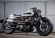 Harley-Davidson: la nuova custom 1250 arriverà nel 2021