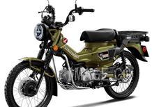 Honda CT 125 Hunter Cub 2021. Trail 125 anche per l'Europa?