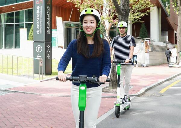 Corea. Monopattini elettrici in sharing vietati ai minorenni