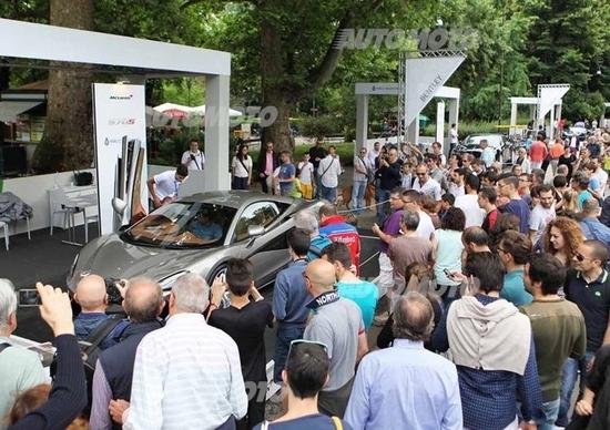 Salone dell'Auto di Torino 2016: le supercar del Parco Valentino