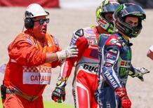 MotoGP 2016. Lorenzo: Sbaglia e non chiede scusa. Iannone: Era troppo lento