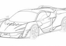 """La nuova Ultimate di McLaren si è """"scoperta"""": il design della Sabre ibrida 4x4"""