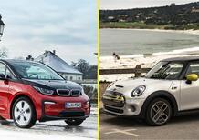 Quale auto elettrica, Confronto compatte premium: BMW i3s Vs Mini Cooper SE