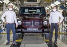 Mercedes Classe G: 400.000 esemplari prodotti per l'iconico fuoristrada