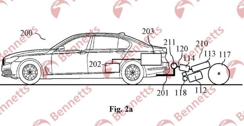 BMW brevetta la ruota a traino: un po' generatore un po' moto