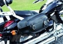 Kit Suzuki: Intruder M800 con borse laterali in pelle di serie