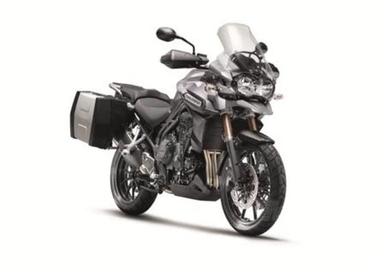 Triumph Extra 2013: accessori al prezzo di serie fino a luglio