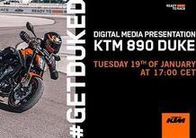 KTM Duke 890: parte il conto alla rovescia per la presentazione live