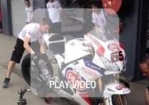 SBK Team Pata Honda: prove pratiche di Pit Stop