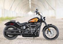 Nuove Harley-Davidson Street Bob 114 e Fat Boy 114