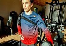 MotoGP. Marc Marquez ancora in palestra: dopo la cyclette, lavoro per il braccio sinistro