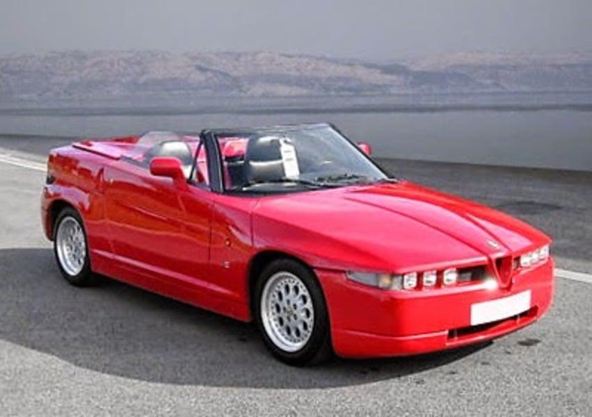 listino alfa romeo sz rz cabrio 1993 96 usate. Black Bedroom Furniture Sets. Home Design Ideas