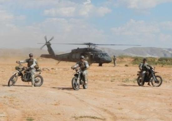 Christini AWD 450 per zone e forze speciali