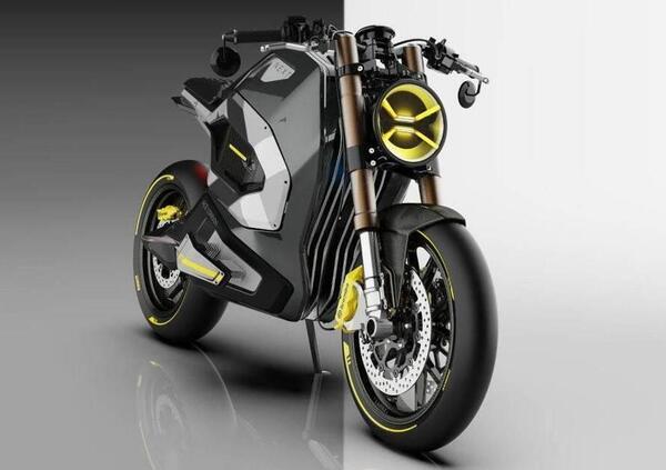 Next Electric Motors presenta la Ace London. La cafe racer del futuro