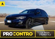 BMW Serie 3 Touring (2021), PRO e CONTRO. La prova strumentale [Video]