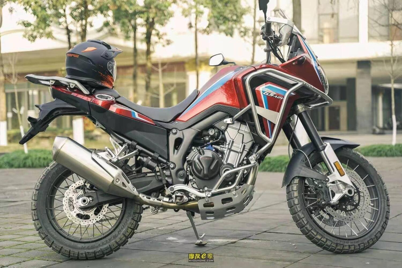 L'Africa Twin 500 è fatta in Cina e si chiama Hengjian Dahaidao