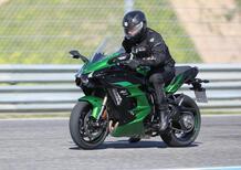 Kawasaki: la prossima Ninja H2 SX sarà con il radar e le telecamere?