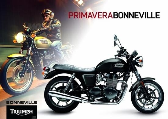 Triumph Bonneville, fino al 30 giugno 2013 a 7.990€